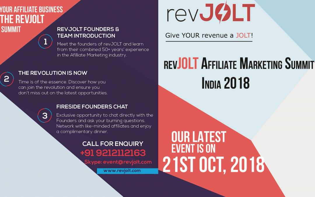 Defining The Future – The revJOLT Affiliate Marketing Summit, India 2018